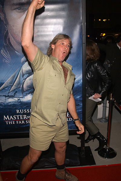 True Blue Aussie Legends Steve Irwin