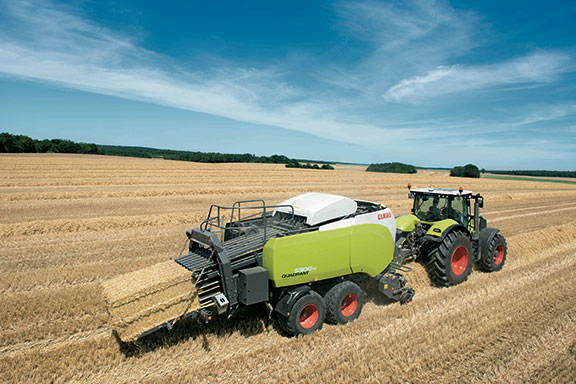 The Claas Quadrant 5300