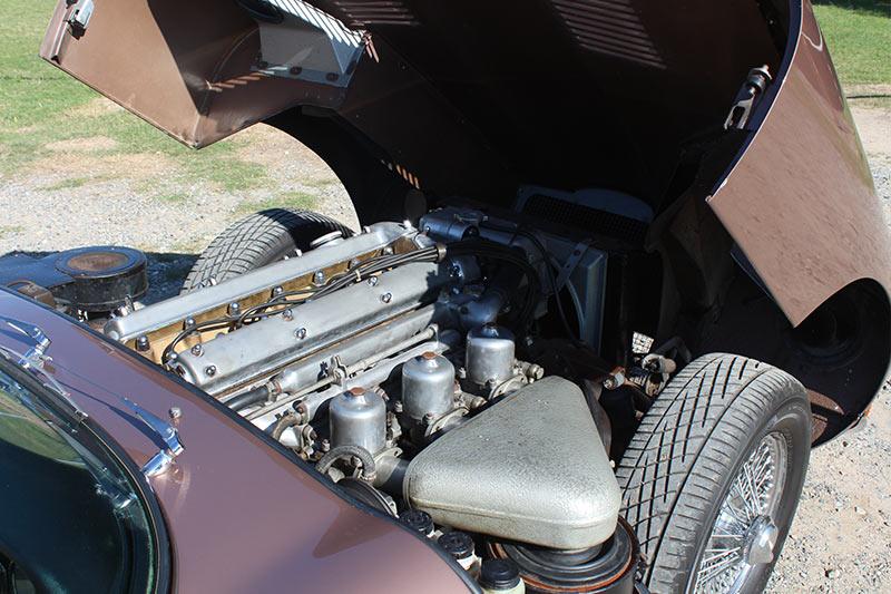 Jaguar -etype -engine