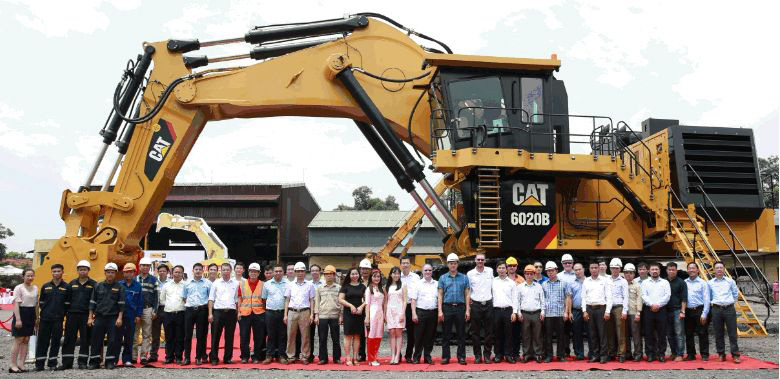 Cat -6020B-mining -excavator