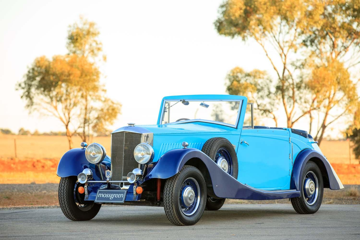 1935 Railton Fairmile One Drophead