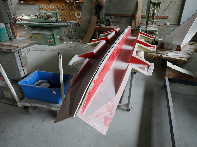 Trade -a -Boat Sharp Craft Scout 4.7 Test Stringers And Bearer Mould