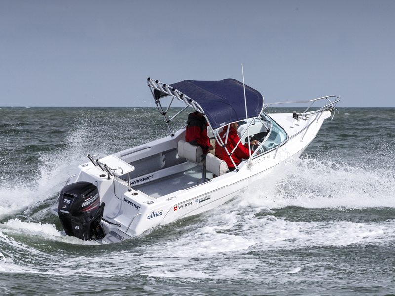 Trade -a -Boat Sharp Craft Scout 4.7 Test Rough Water Review
