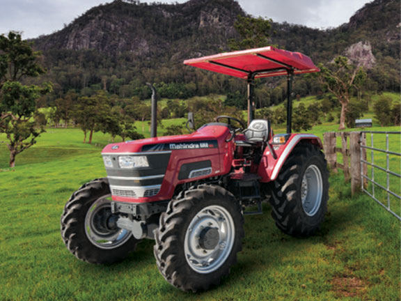The Mahindra 6060 utility tractor