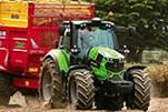 The Deutz-Fahr 6165 TTV Agrotron tractor