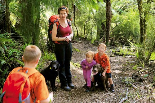OUr -kids -have -loved -tramping -wiht -the -dogs -since -a -young -age