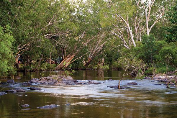 Coen -river -Queensland