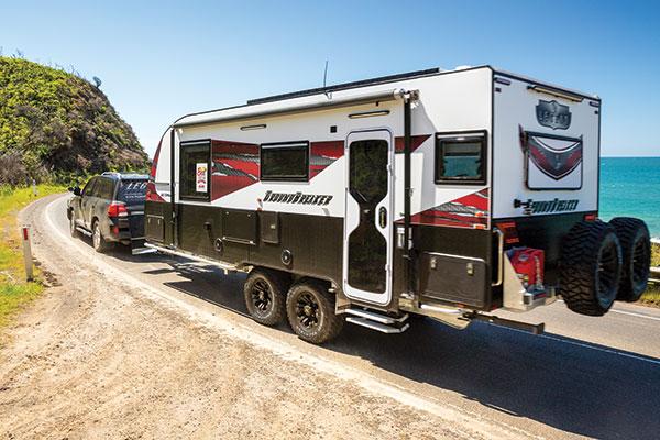Legend -Groundbraker -caravan