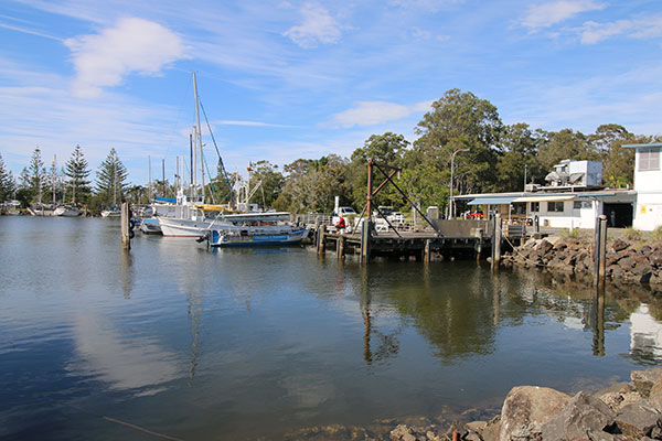 Brunswick -Heads -at -the -Northern -Rivers -NSW