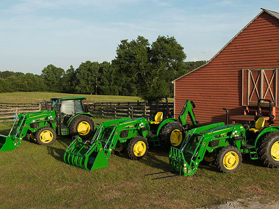 The John Deere 3E series