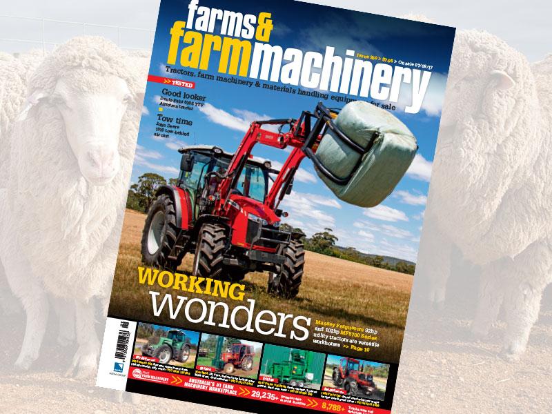 Farms & Farm Machinery magazine issue 350