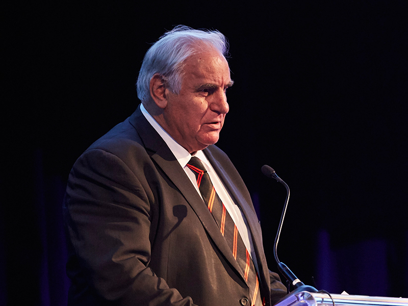 The always hilarious and appropriately patriotic Sam Kekovich talked some sense into the audience, and you'd have been hard pressed finding somebody not crying from laughter!