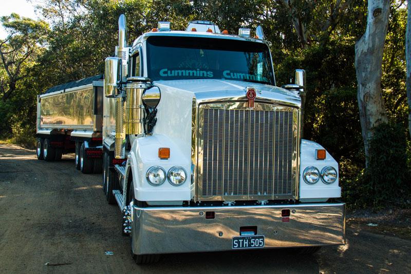 Kenworth -T610-tipper -truck