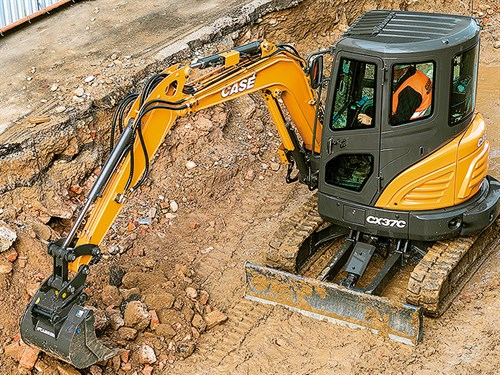Case -C-Series -mini -excavators -NZ-Advance Quip