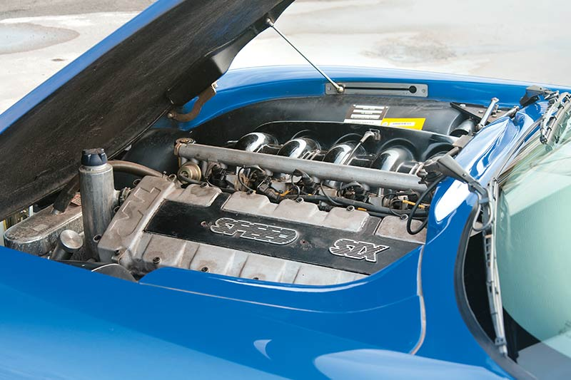 Tvr -engine -bay