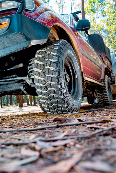 Tyres -on -a -4WD-car