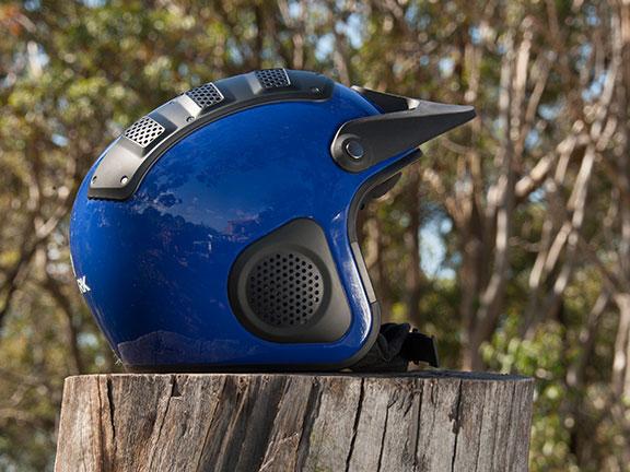 The Shark X16 atv helmet
