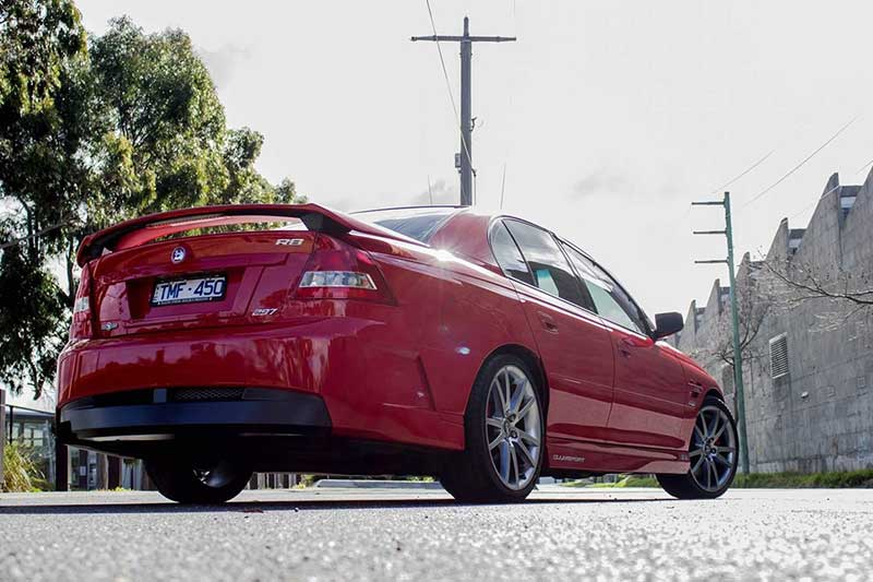 Hsv -clubsport -rear