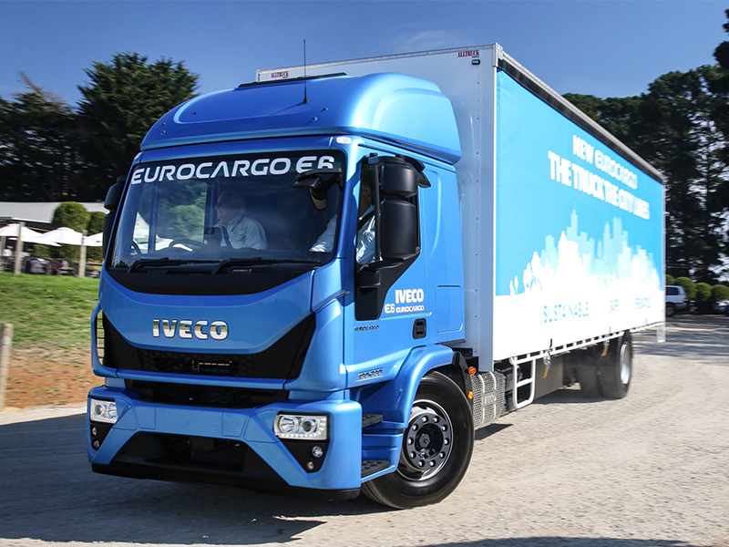Iveco's Euro 6 Eurocargo. A model for niches rather than big numbers.