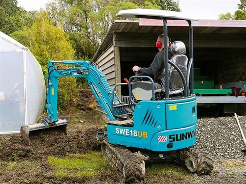 SWE18UB-mini -excavator