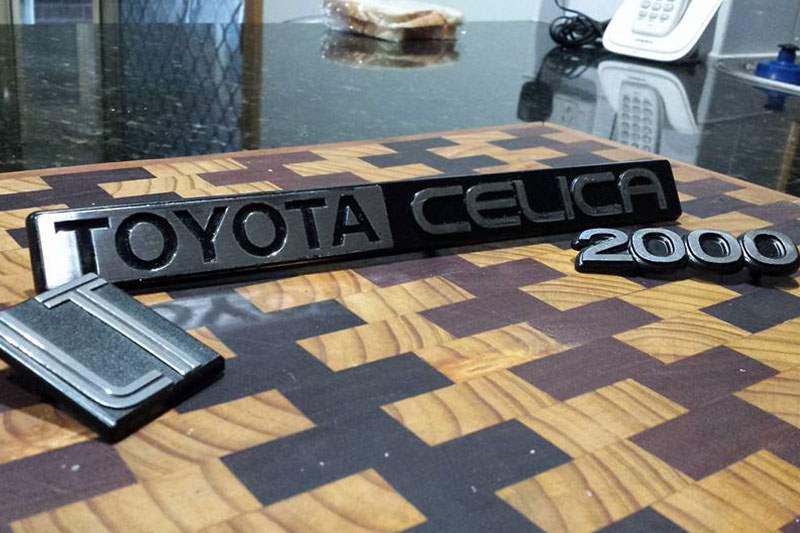 Toyota -celica -badge