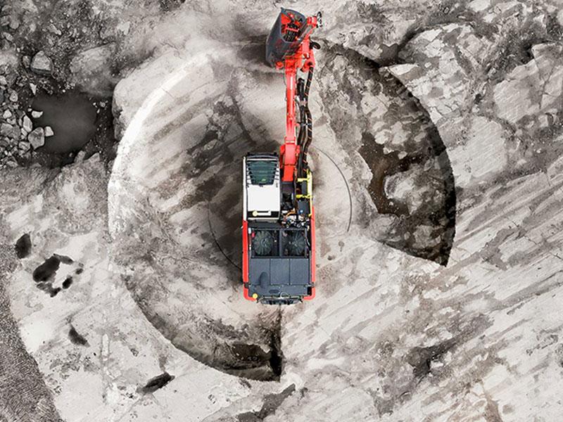 Sandvik Ranger DXi surface drill rig
