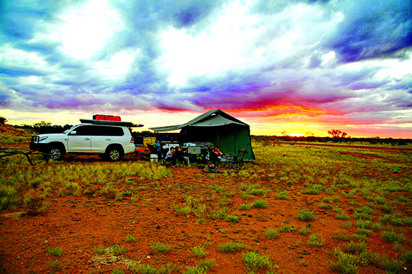 Desert Camping With Kids 2
