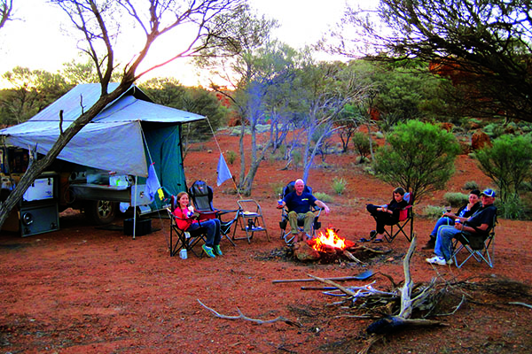 Desert Camping With Kids 5