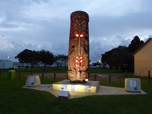 Kawhia -Harbour -Maori -history -1