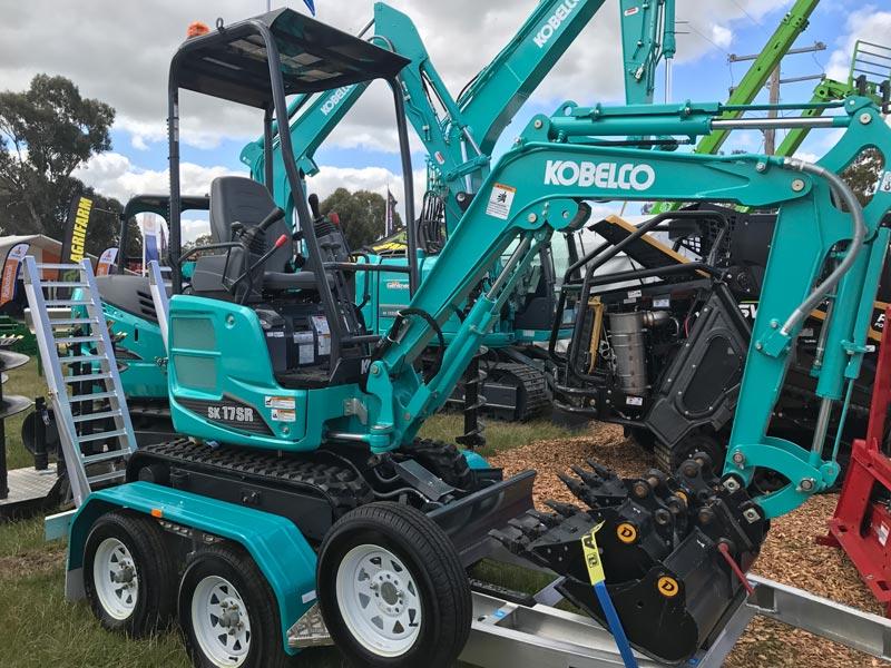 Kobelco -SK17SR-mini -excavator