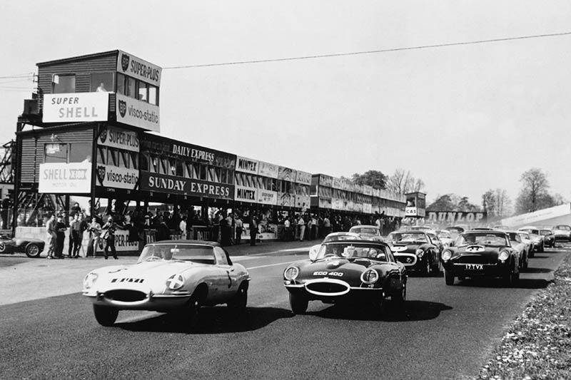 Jaguar -etype -racing