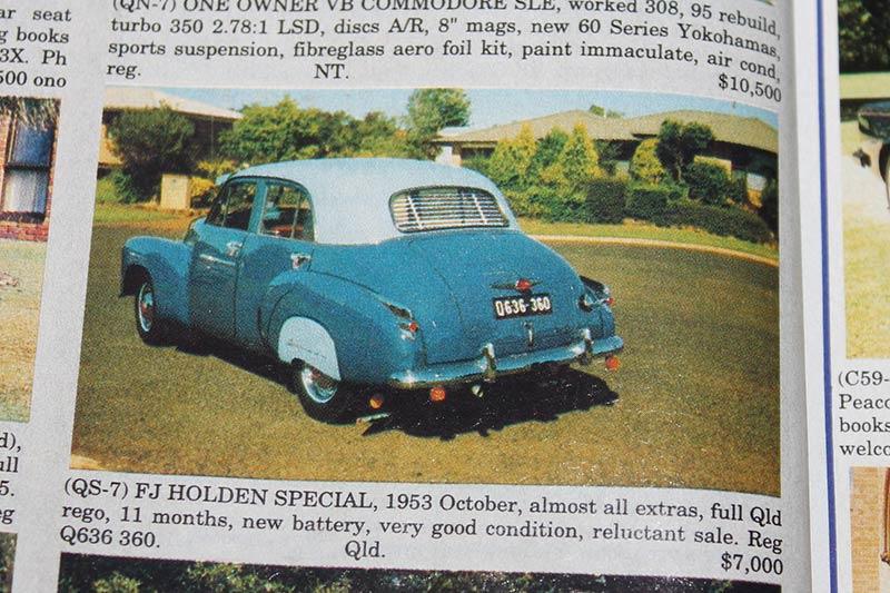 Holden -fj -special