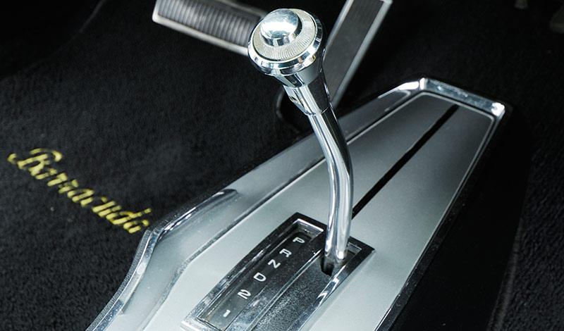 Barracuda -gearstick