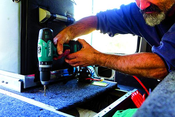 Installing An Onboard Air Compressor Step 1