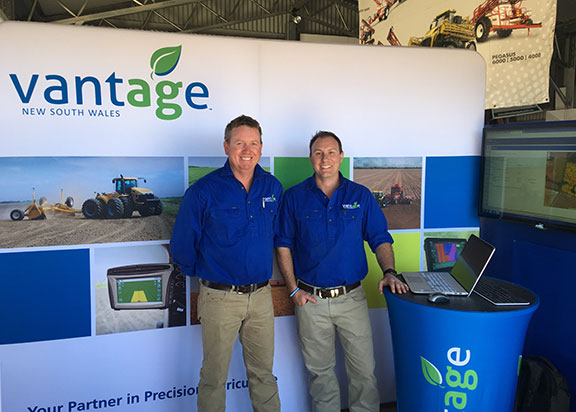 Andrew Cory and general manager Mick Casey from Vantage New South Wales.
