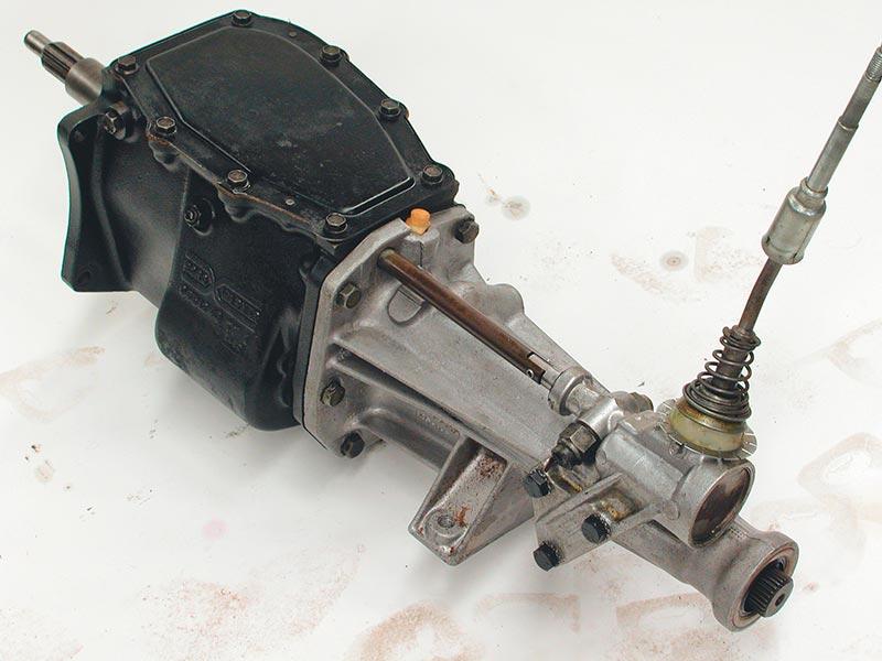 Borgwarner -single -rail -gearbox