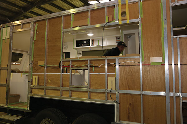 Caravan -being -built -at -a -factory