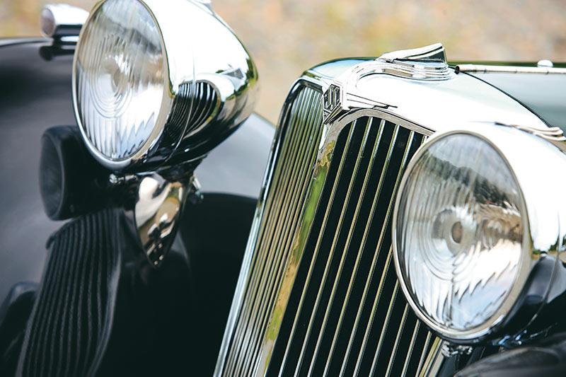 Jaguar Ss 1 Headlights