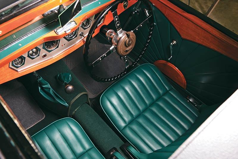 Jaguar Ss 1 Interior