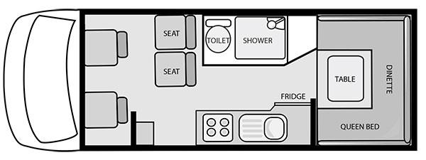 DIscovery -motorhome -floorplan