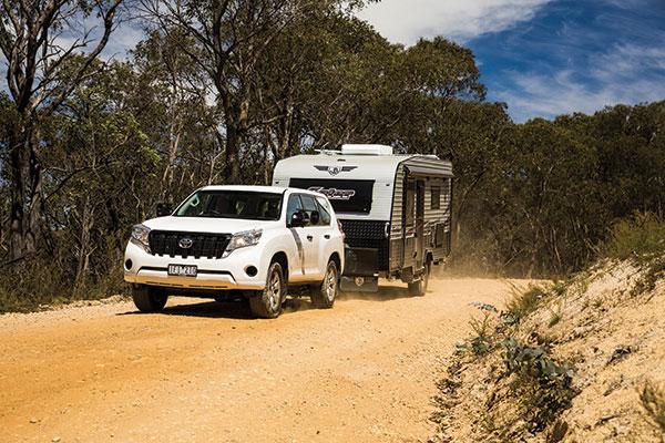 Toyota -car -towing -a -JB-caravan