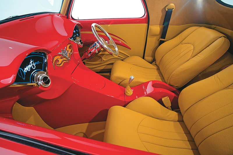 Willys -coupe -interior