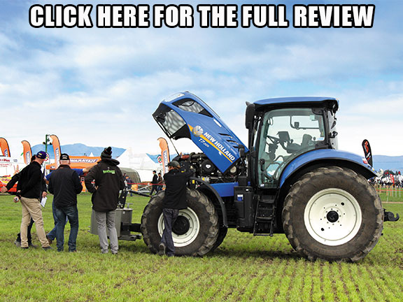 New Holland T7.225 side on