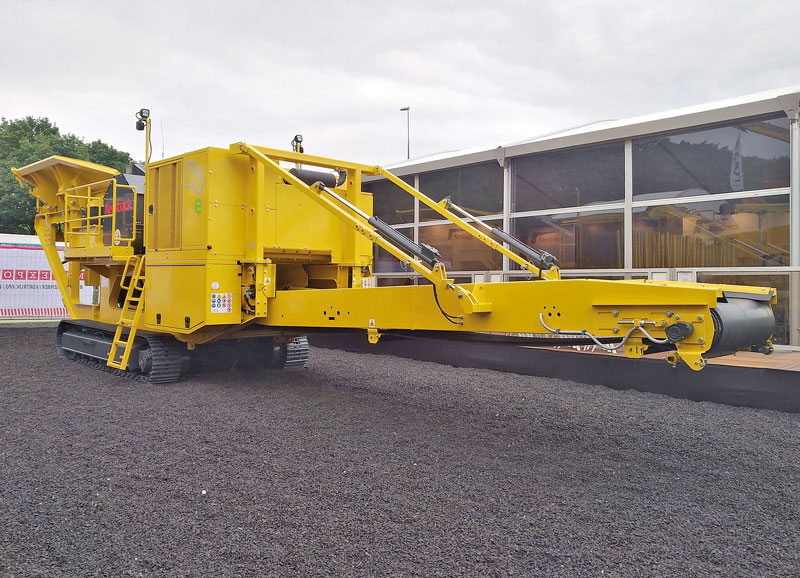 Keestrack -B3e -mobile -jaw -crusher