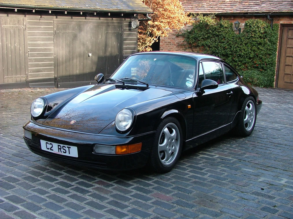 Porsche 964 RS UK Delivered