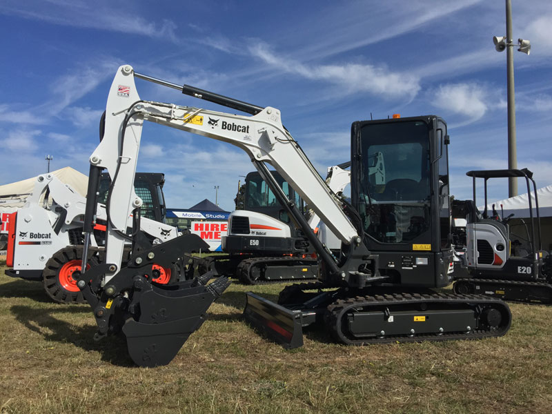 Bobcat -E35-R-Series -mini -excavator