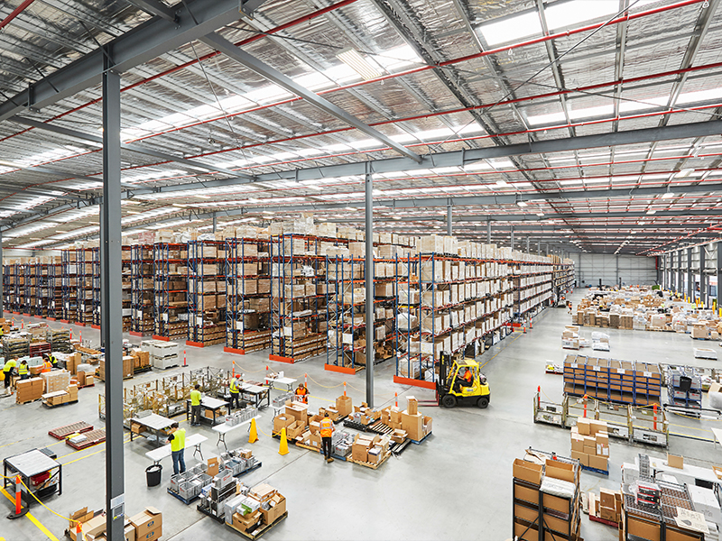 eStore Logistics facility in Derrimut has over 20,500 pallet positions