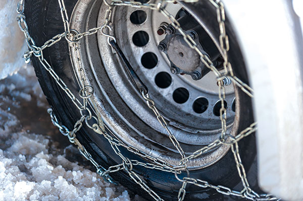 Snow -chains -on -a -wheel