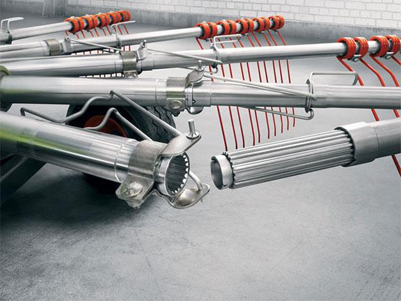 Claas liner profix brackets