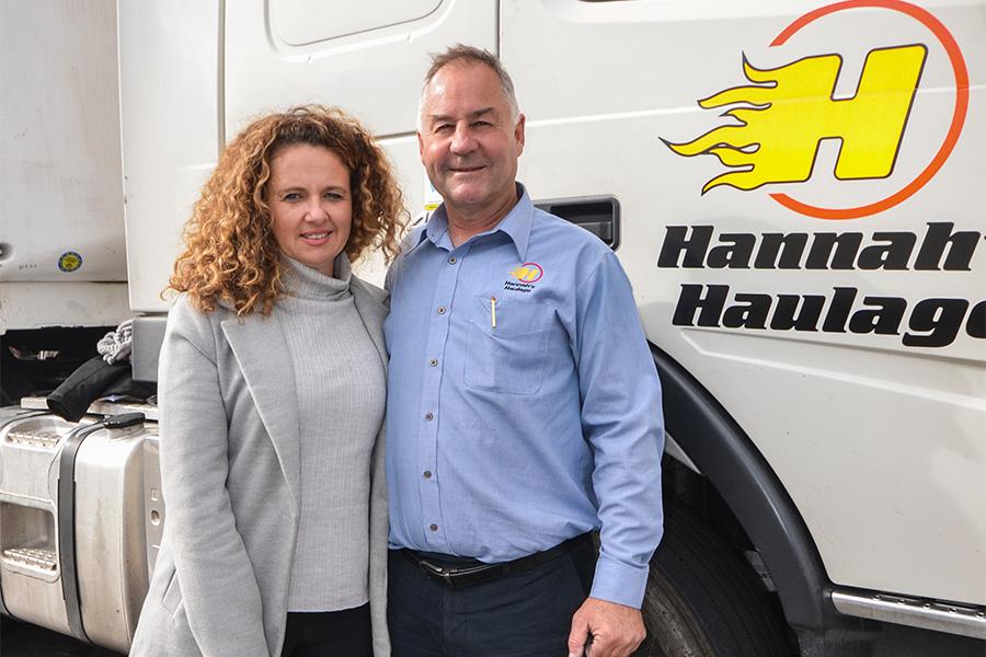 Julie and Scott Hannah